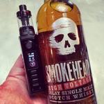 Set-up full black du jour : box Odin 100w et Nautilus 3. Le switch de la box assorti au puissant whisky Smokhead 💀😝💨 #dovpoodin #nautilus3 #aspire #aspirefrance #lca #smokeheadwhisky #ewayvape #vapeshop #vapeon #vapeporn #vapefam #vapefrance🇫🇷 #vapenation #vapelife #vapelikeaboss #whisky