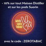 A l'occasion du Mois sans Tabac, profitez de 10% de remise sur les liquides Maison Distiller : https://www.ewayvape.com/shop/fr/42-maison-distiller Et sur tous les pods Suorin :  https://www.ewayvape.com/shop/fr/brand/35-suorin Code : ZEROTABAC #moissanstabac #vape #vapeon #vapefrance🇫🇷 #vapefam #ewayvape #maisondistiller #stoplaclope